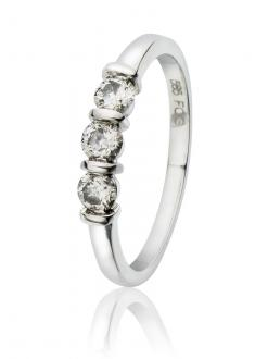 Diamantring 0,45 ct.